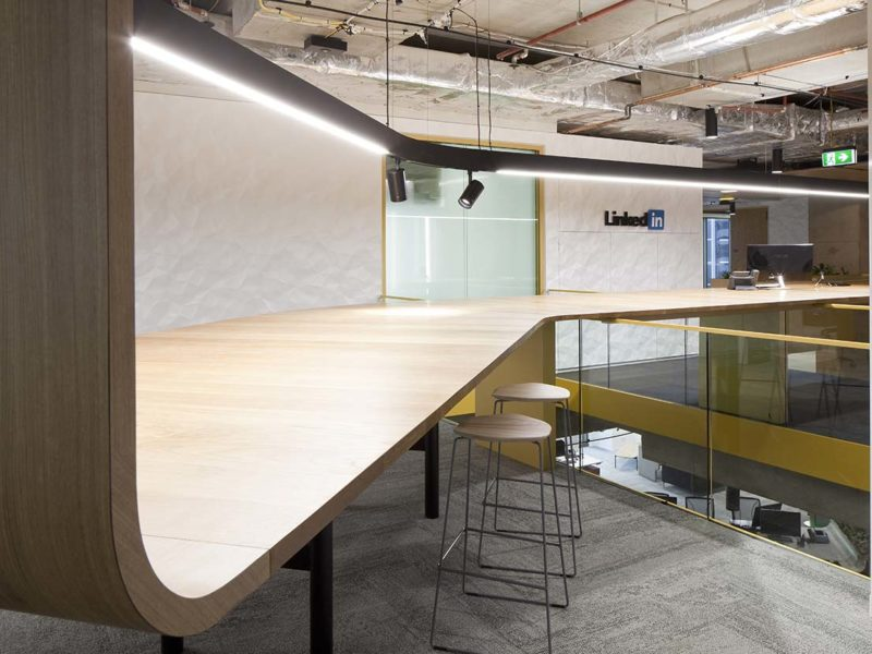 LinkedIn Office Joinery Sydney